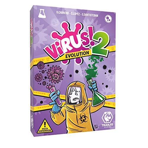 Comprar juego de mesa: Tranjis Games - VIRUS! 2 Evolution (Expansión) - Juego de cartas (TRG-12evo)
