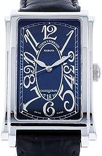 クエルボ・イ・ソブリノス CUERVO Y SOBRINOS プロミネンテ ソロテンポ 1012-1NG 中古 腕時計 メンズ (W171311)