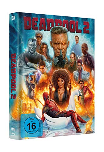 Deadpool 2 Mediabook Swan (2 Blu-rays & 1 DVD) [Blu-ray]