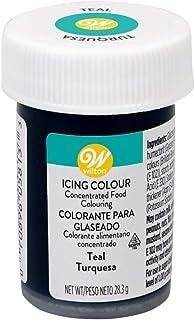 Wilton Colorante Alimenticio para Glaseado en Pasta, 28.3g, Color Turquesa,  04-0-0038