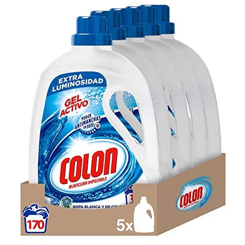 Colon Gel Activo - Detergente para lavadora, adecuado para r