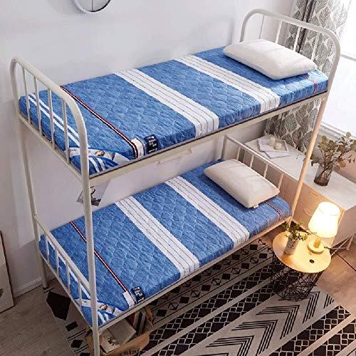 J-Kissen Verdicken Tatami Bodenmatte, japanische Futon Kissen Matratze, Faltbare Schlaf Tatami-Matte, atmungsaktiv Bett-Kissen-Matte Einzelbett Matratzenauflage