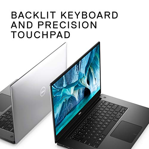 Product Image 1: Dell XPS 15 7590 Laptop 15.6 inch, 4K UHD OLED InfinityEdge, 9th Gen Intel Core i7-9750H, NVIDIA GeForce GTX 1650 4GB GDDR5, 256GB SSD, 16GB RAM, Windows 10 Home, XPS7590-7572SLV-PUS, 15-15.99 inches
