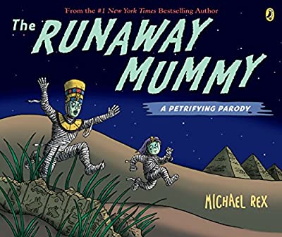 A parody of the book Runaway Bunny this one is perfect for Halloween.