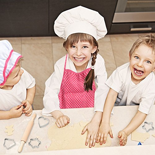 Product Image 3: Cooking, Baking Set, Chef Hat, Oven Mitt, and Other Cooking Utensils for Kids