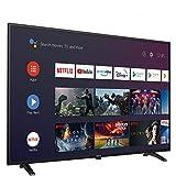 Televisión 32 Pulgadas Smart TV METZ 32MTC6000 Android TV 9,0 sin Marco Google Asistente Control Remoto por Voz 2 años de garantía (32')