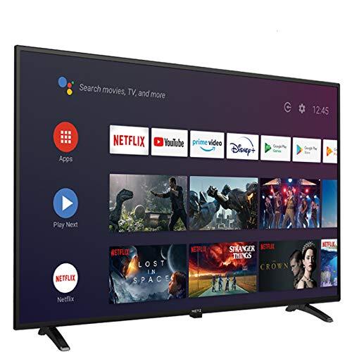"""Televisión 32 Pulgadas Smart TV METZ 32MTC6000 Android TV 9,0 sin Marco Google Asistente Control Remoto por Voz 2 años de garantía (32"""")"""