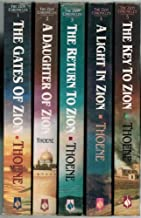 Bodie Thoene Set (5 Paperback Books): The Gates of Zion (Book One) + A Daughter of Zion (Book Two) + The Return to Zion (Book Three) + A Light in Zion (Book Four) + The Key to Zion (Book Five) (The Zion Chronicles)