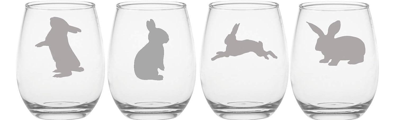 Bunny Rabbit Etched Glass Easter M Beer Choice outlet Pilsner of Regular dealer