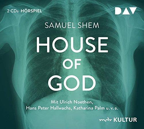 House of God: Hörspiel mit Ulrich Noethen, Hans Peter Hallwachs u.v.a. (2 CDs)