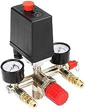 90 – 120 psi luchtcompressor, drukschakelaar voor SportsMJJ, meervoudig controleventiel, manometer.