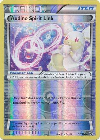 Pokemon - Audino Spirit Link (92/124) - XY Fates Collide - Reverse Holo