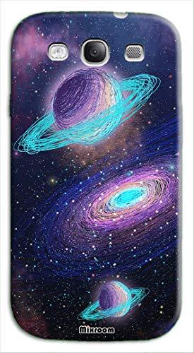 Mixroom - Cover Custodia Back Case in TPU Silicone Morbido per Samsung Galaxy S3 Neo i9301 i9300 Fantasia Cosmo Infinito U835