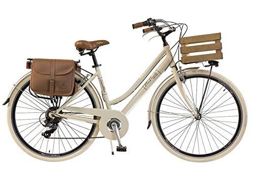 Via Veneto by Canellini Bicicletta Bici Citybike CTB Donna Vintage Retro Via Veneto Alluminio...
