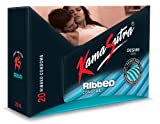 KamaSutra Desire Series Condoms for Men - 20 Pieces (Ribbed)