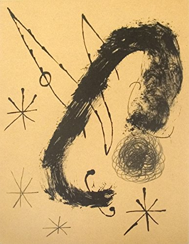 1965 Joan Miro bailarina de le Miroir, no, 151-152, pg 20 Litografía