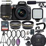 Nikon D5600 24.2 MP DSLR Camera Video Kit with AF-S DX NIKKOR 18-140mm