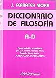 Diccionario de filosofía, vol. 1: A-D (Ariel Filosofía)