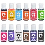 Food Coloring Icing Colors, Gel-Based, Edible Color Pigment for Baking Cake Pastry Fondant Macaron...
