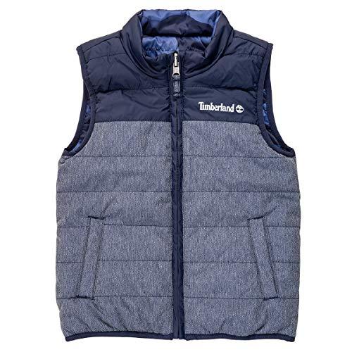 Timberland Titouan Mäntel Jungen Blau - 4 Jahre - Daunenjacken Outerwear