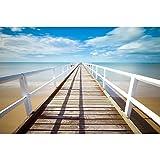 Rompecabezas Clásicos, Blue Ocean con Sky Pier DIY Rompecabezas Educativo Regalo De Decoración De La Pared del Hogar, 500/1000/1500/2000/3000/4000/5000/6000 Piezas 0804 (Size : 6000 Pieces)