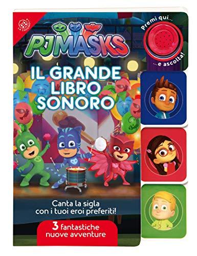 Il grande libro sonoro. Pj Masks Superpigiamini. Ediz. a colori