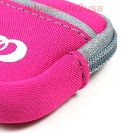 - Hot Pink Mini Sleeve Pouch Bag for Nikon Coolpix S570 Digital Camera Pink {+ 1pc name tag} -- Best Seller on Amazon!