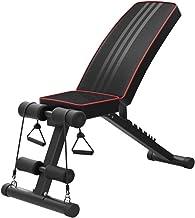 Gewichtsbank, verstelbare krachttrainingsbank voor volledige lichaamstraining, snel inklapbare/helling/neergang Utility-tr...