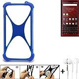 K-S-Trade® Mobile Phone Bumper For Blackberry KEY2 Red