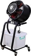 YZJJ Ventilateur sur Pied, Ventilateur Industriel, Ventilateur brumisateur intérieur, réservoir d'eau 60L, idéal pour Le C...