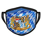 Passamontagna riutilizzabile con bandiera Baviera Baviera Passamontagna lavabile Outdoor Nose Bocca copertura moda per unisex uomini donne