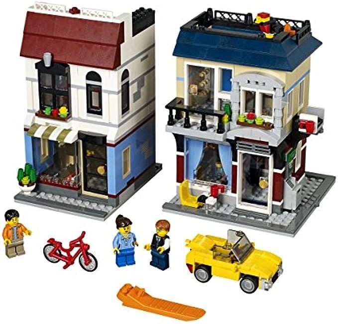 LEGO Creator31026 קפה וחנות אופניים