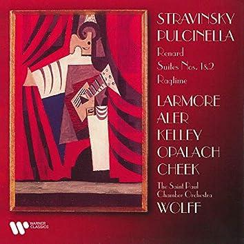 Stravinsky: Pulcinella, Renard, Suites & Ragtime