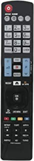ALLIMITY AKB74455403 Mando a Distancia reemplazado por LG 3D Smart TV 22LE3320 26LV2500 32LF65209 32LH4900 39LB650V 42LB650V 42LF652 42PC1RV 42PW450 50LB650V 50LF652 55EC900V 55LF652