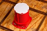 3M 16540-case - Barrera de incendios para tubos de metal, 2 MCID, color rojo (Pack de 12)