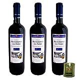 3er Paket Mavrodaphne of Patras Rotwein lieblich Achaia Clauss - 3 x 0,75 Liter + 80 ml Rhodion Olivenöl