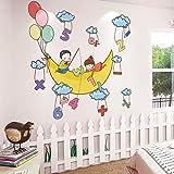 Cartoon Wandaufkleber Aufkleber Baby Wandbild Baby Wandpapier selbstklebend
