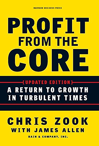 Profit from the Core: A Return to Growth in Turbulent Times (English Edition)
