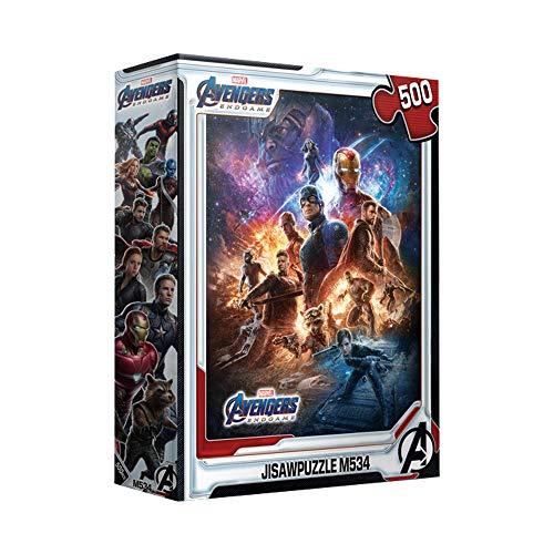 500Piece Jigsaw Puzzle Marvel Avengers Endgame