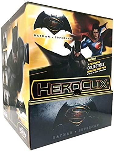DC HeroClix  Batman VS. Superman Dawn of Justice Movie Gravity Feed by HeroClix