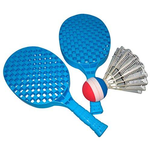 Shuttleball-Set, Riesen Badminton, Riesen Federball, 2 Schläger, 1 Ball