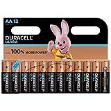 Duracell Ultra DU03798 Alkaline AA Batteries - 12-Pack