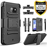HTC U Ultra Case, Dual Layers [Combo Holster] Case...