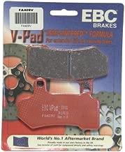 EBC Brakes FA409V Semi Sintered Disc Brake Pad, Black, 1x1x1