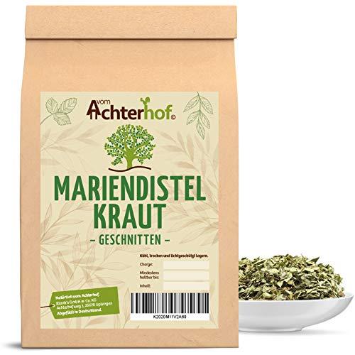 100g Mariendistelkraut geschnitten Mariendistel-Tee Kräuter-Tee vom-Achterhof