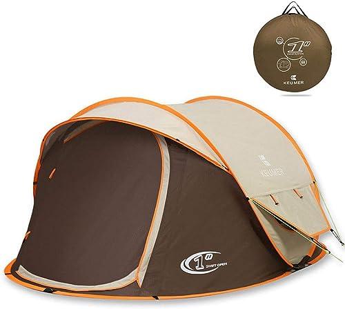 OUTDOOR GAMES Tente de Camping Abri de Tente pour Festival de Camping sur la Plage pour 3-4 Hommes