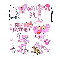 ピンクパンサーが トラベル収納バッグド多機能スポーツバッグ ジムバッグ 巾着 バッグ シューズ ケース 乾湿分離ポータブルい 巾着ポケット 収納袋