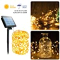 Brightown Outdoor String Lights, Garden LED Fairy Lights for Patio Yard Trees Christmas Wedding Party Decor, Pack of 2