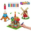Beaure 67-Pieces 3D Coloring Puzzle