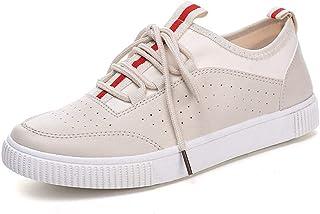 Summer Men's Low-top Shoes Through Punching Fashion Trend Men's Shoes White Shoes Hollow Lazy Shoes Shoes (Color : Beige, Size : 43)